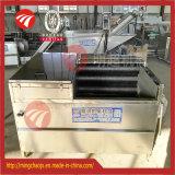 El lavado de cepillo de Raíz Tipo de Peeling vegetal de la máquina dispensador