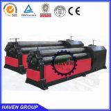máquina de dobra W11-10X3200 da placa dos rolos da alta qualidade três