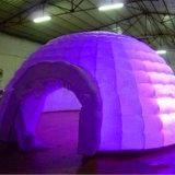 Tente énorme gonflable de bulle/tente gonflable de course de produit avec la lumière