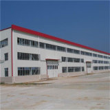 La construcción de acero estructura prefabricada taller