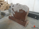 Shanxi Black Granite American Style Tree Shape Monument & Tombstone Bench