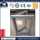 Janela de alumínio com moldura de alumínio com vidros temperados