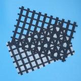 Tweeassige Bx Zelfklevende Glasvezel Geogrid voor de Versterking van de Bekleding van het Asfalt