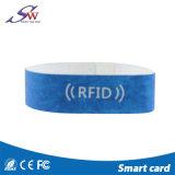 一度だけのプログラム可能なMf DESFire 4K RFIDのペーパーリスト・ストラップ