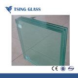 Gehard/Aangemaakt/geeft het Gelamineerde Glas voor de Rugplank van het Basketbal met Hoogte/Kwaliteit vaste vorm