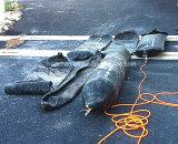 sacos hinchables de goma inflables del saco hinchable marina de los 8m