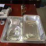 Термостойкий алюминиевой фольги для контейнера питание
