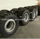 Neumático de relleno usado cargador de la PU con la pisada resistente del corte