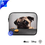 Tierpug-Hund gedruckter Laptop-tragender Kasten-Hülsen-Tablette-Kasten