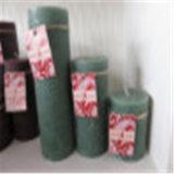 Heiße verkaufende handgemachte metallische Paraffin-Pfosten-Kerze für Christamas /Religion