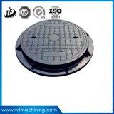 En124 D400の延性がある鋳鉄の延性がある鉄の下水道の円形のマンホールまたは下水管または私道の下水管かアクセスカバー