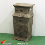 Gabinete de madeira da cor natural de Luckywind com gavetas