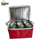 saco impermeável do refrigerador do ombro do piquenique ao ar livre das latas de 3mm EPE 6