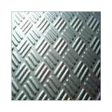 Finition miroir 316ti Pas de plaque en acier inoxydable8 Checker