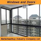 Gran ventana de aluminio para edificios comerciales