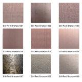 304 feuille balayée par satin extérieur d'acier inoxydable de Sb du numéro 4