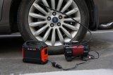 휴대용 발전기는 태양 전지판에 의하여 또는 벽 코드 구멍 또는 차 비용을 부과했다