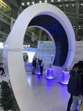 Afficheur LED polychrome d'intérieur avec le type de /Arc de courbe