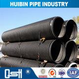 Bajo costo de HDPE Double-Wall Flexcible tubo corrugado para Metro de carretera