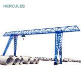 Mhのモデルトラス構造の起重機のガントリークレーン