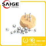Bola de acero inoxidable SS304 del CERT 5m m del SGS/de la ISO