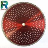 Circular de soldadura por láser hojas de sierra de diamante segmentado adecuado para el hormigón
