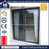 Portello scorrevole incorniciato alluminio con la vetratura doppia/il vetro lustrato