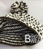 Design clássico todos os lado crochê chapéu de malha