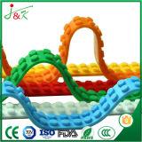 Bouwt het Veelkleurige Silicone van de Band van de Bouwsteen Speelgoed (de Opnieuw te gebruiken Kleefstof van 3M)