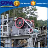 Minifelsen-Zerkleinerungsmaschine, kleine verwendete Felsen-Zerkleinerungsmaschine für Verkauf