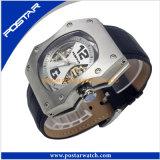 Dos en acier inoxydable montres automatiques de qualité