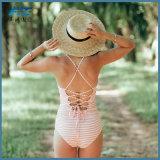 OEM 섹시한 한 조각 수영복 여자 수영복 인쇄