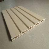 Composé en plastique en bois décoratif d'intérieur de panneau de mur des matériaux WPC