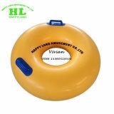 Tubo gonfiabile del galleggiante dell'acqua della boa gialla del PVC per la trasparenza di slittamento