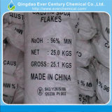 A soda cáustica em Flake 99% Hydroxid Sódio Naoh