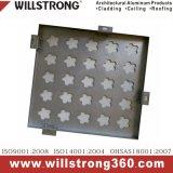 클래딩을%s Aluminumn 구멍을 뚫는 단단한 격판덮개