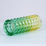 Vaso di vetro di colore per la decorazione domestica
