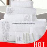 卸し売り100%Cotton高級ホテルの平野タオル、表面布手タオルの浴室タオルセット