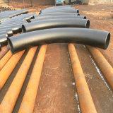 Curva de tubo caliente de inducción del acero de carbón del API 5L 3D/5D