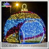 Света шариков рождества света праздника света украшения рождества супер яркие большие напольные