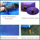 Sac paresseux de sofa gonflable rapide portatif d'air de deux couleurs