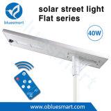 luz de calle solar del sistema de iluminación de 5200lm 40W con el sensor