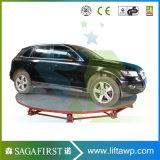 Plataforma de elevador de estacionamento de tijolo de carro 3000kg estacionada