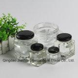 Glasflasche der quadratischen Serien-50ml-500ml für Honig und Stau