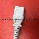 1,8 м КХЦ утверждения китайский блок питания переменного тока с помощью шнура питания IEC C13
