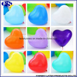 De groene Gevormde Ballons van het Huwelijk van het Latex van de Verpakking 100PCS Hart