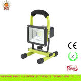 최상 High Efficiency Portable Rechargeable LED Flood Light 10W