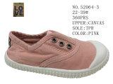 Nr 52064 Vier Schoenen 22-39# van het Canvas van de Schoenen van het Jonge geitje van de Schoenen van de Baby van de Kleur