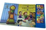 ボタンの印刷サービスの熱い販売の子供音楽音の本