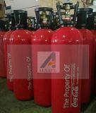 Isqueiros de alumínio do cilindro de gás CO2 10lb